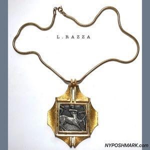 RAZZA Jewelry - RAZZA Zodiac Sagittarius Unisex Necklace Pendant